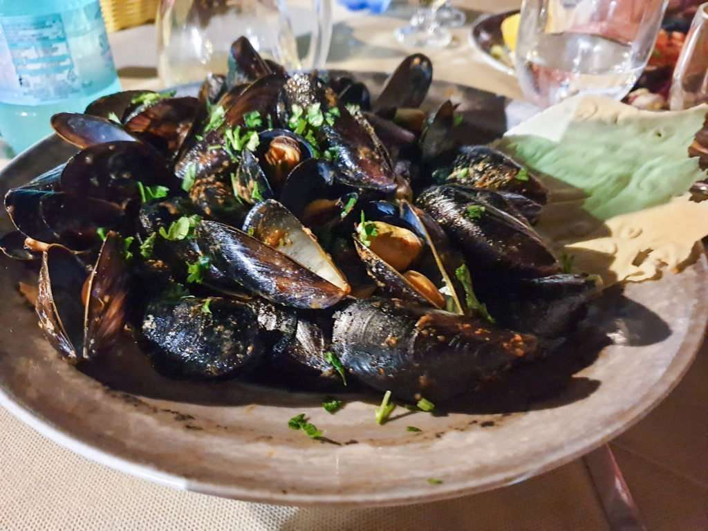mangiare pesce in sardegna